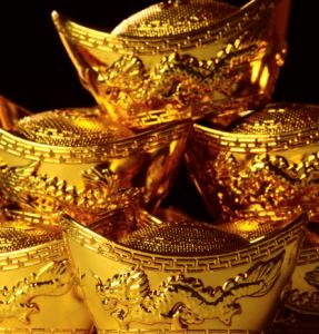 or de chine